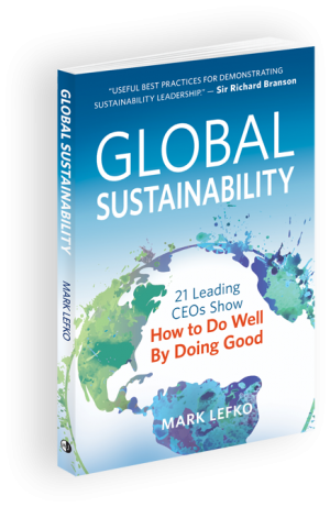 Global Sustainability Book by Mark Lefko