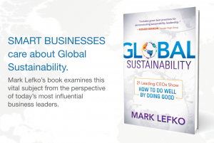 Global Sustainability Book Promo Graphic