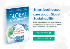 Mark Lefko Global Sustainability Social Graphic